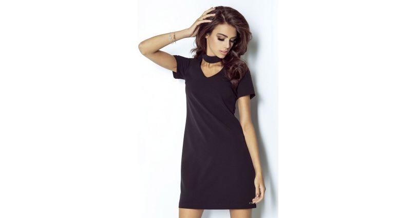 b2e9cefdfc sukienki trapezowe - Sukienki na sezon 2019 - Moda - wieczorowe - czerń -  wszystkie produkty na stronie - Sklep OHSO.pl™