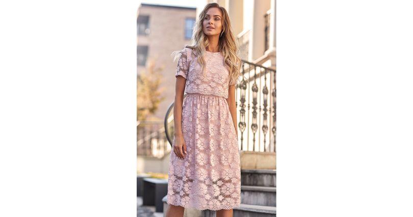 923b40fc01c80e Sukienki z koronką - sukienki koronkowe w różnych wzorach - Sukienki na  sezon 2019 - Moda - wizytowe - Sklep OHSO.pl™