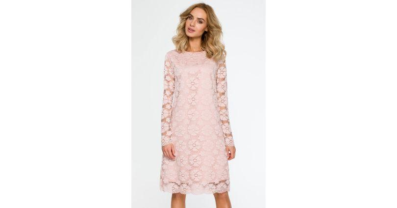 4217941fb9 Sukienki z koronką - sukienki koronkowe w różnych wzorach - Sukienki na  sezon 2019 - Moda - wieczorowe