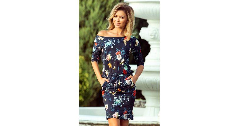 e36ceef6de2bd1 Sukienki na sezon 2019 - Moda - rękaw 3/4 - Sklep OHSO.pl™