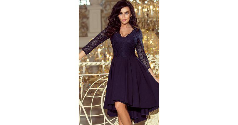 927bdf162f Sukienki z koronką - sukienki koronkowe w różnych wzorach - Sukienki na  sezon 2019 - Moda - niebieski i granat - wszystkie produkty na stronie -  Sklep ...