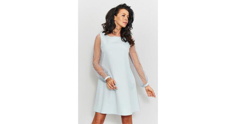 edf07d3f13 sukienki trapezowe - Sukienki na sezon 2018 - Moda - wieczorowe - Roco -  wszystkie produkty na stronie - Sklep OHSO.pl™