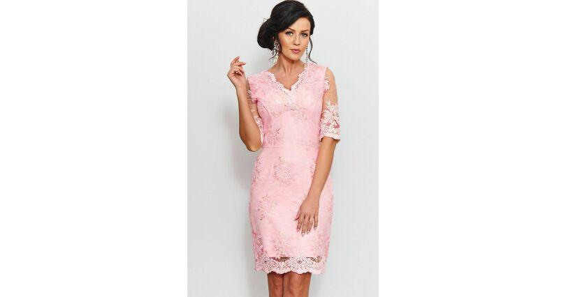 31614234a4edca Sukienki z koronką - sukienki koronkowe w różnych wzorach - Sukienki na  sezon 2019 - Moda - rękaw 3/4 - Roco - wszystkie produkty na stronie -  Sklep OHSO.pl ...