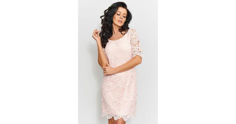 31a45ac7d7acb7 Sukienki z koronką - sukienki koronkowe w różnych wzorach - Sukienki na  sezon 2019 - Moda - ołówkowe - Roco - wszystkie produkty na stronie - Sklep  OHSO.pl™